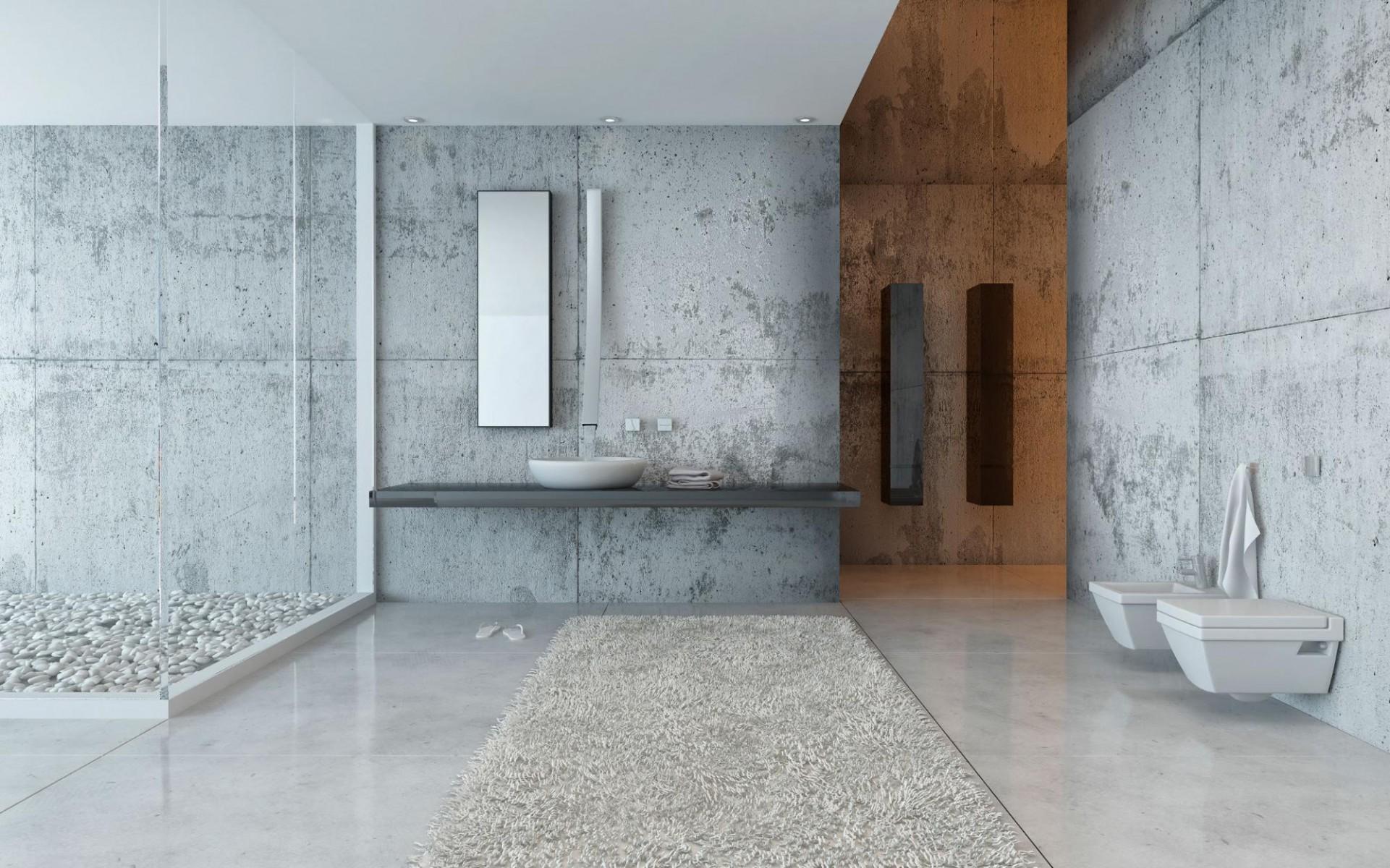 Choisir le carrelage pour une salle de bain de style industriel
